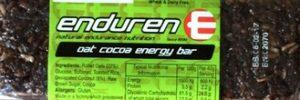 Enduren Oat Cocoa Energy Bar
