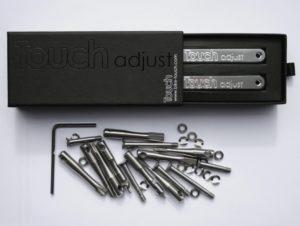 Touch-adjust-unpack